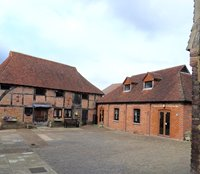 Behind the museum is more to discover, a barn turned into the parish council