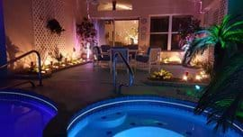 Cosy lanai with serene still pool