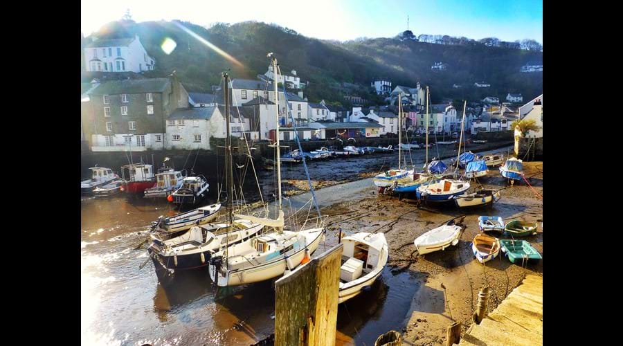 The Inner Harbour at Low Tide