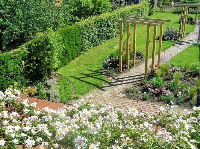 Garden from the bedroom