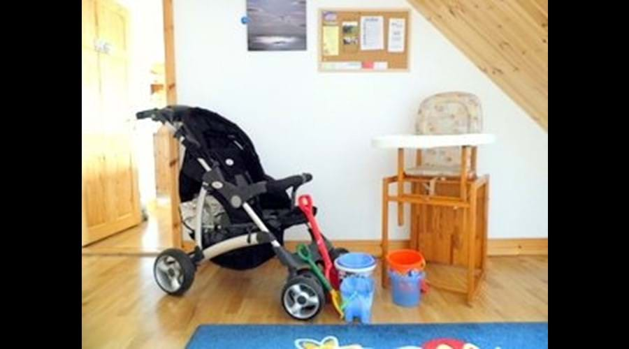 We provide a buggy and beach equipment to help lighten your car load