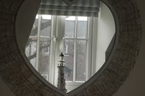 Reflection in the Mirror in the Front Bedroom