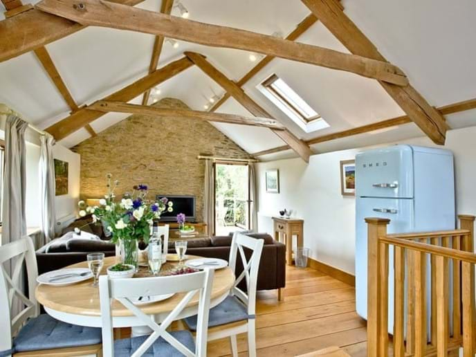 Sociable Open Plan Living/dining Area