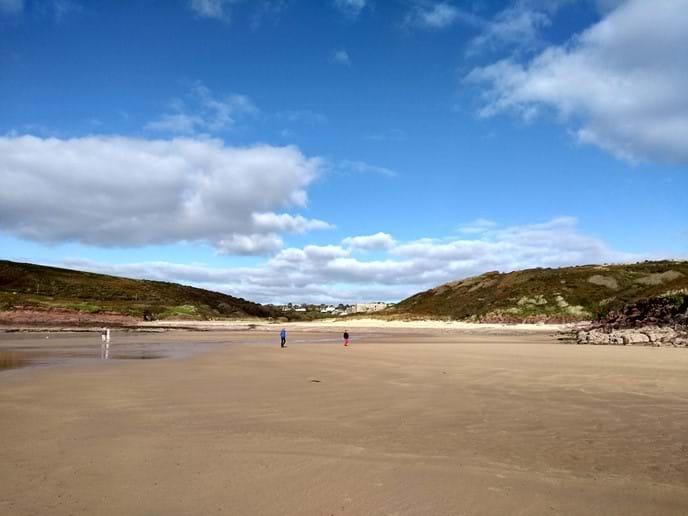 Manorbier Beach