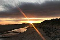 Traeth Crigyll (closest beach)