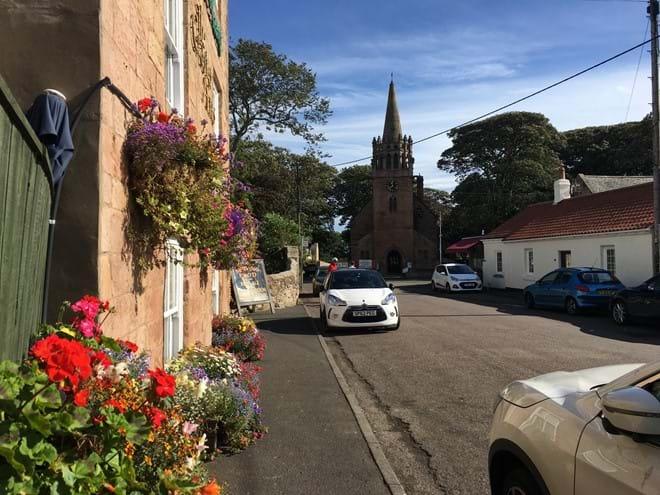 Beadnell Village
