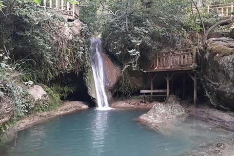 Turgut Waterfall, a 15 minute drive from either villa - a lovely cool and refreshing swim on a hot summers day!