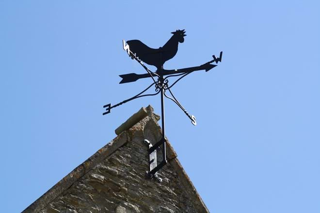 The Rectory Lacock Weather Vane