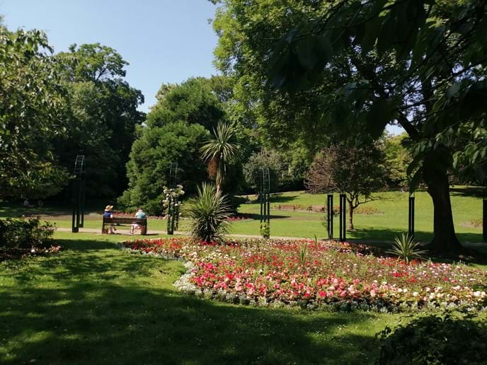 Dale End Park in Ironbridge. A wonderful place to sit and relax.