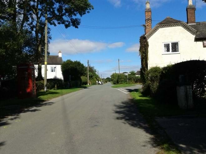 Looking back to Hadley End
