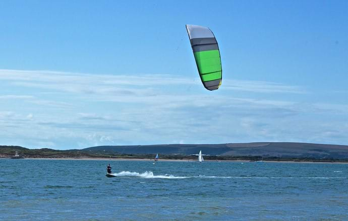 Kite Surfing, Instow Beach