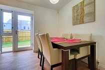 Dining area and garden