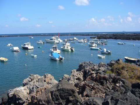 Orzola in the North of Lanzarote