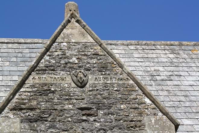 One of The Rectory Inscriptions