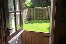 Stable door into garden
