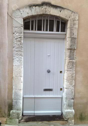 Front door to MaisonO