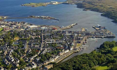 An Aerial View of Stornoway