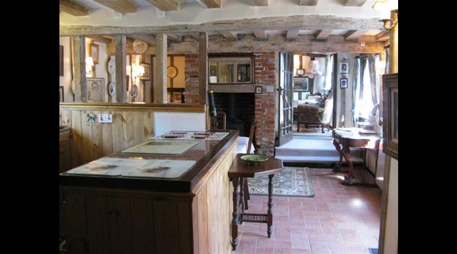 Pump cottage kitchen Dining room
