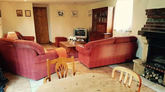 Comfortable lounge area in Le Cerisier