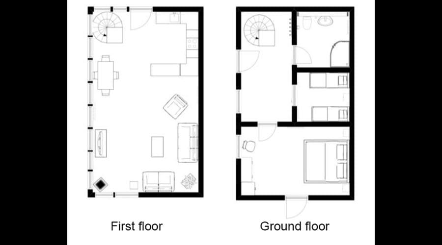 Signal Box - floor plan