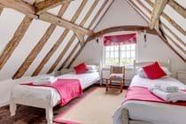 Bedroom 3 - The attic bedroom
