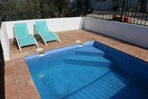 Private casita pool