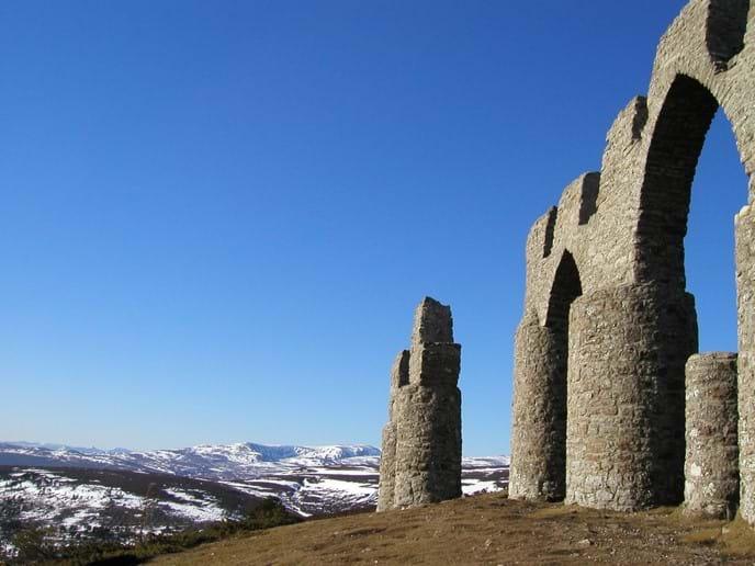 Fyrish hill near Evanton