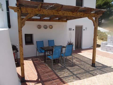 The Front of the 2 Bedroom Casita with Canopy.