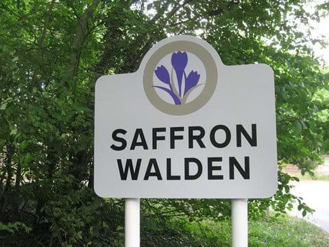 Walden Road Town Entrance Sign