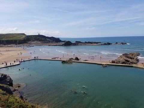 Bude beach & sea pool