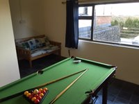 Pooltable in Games Room