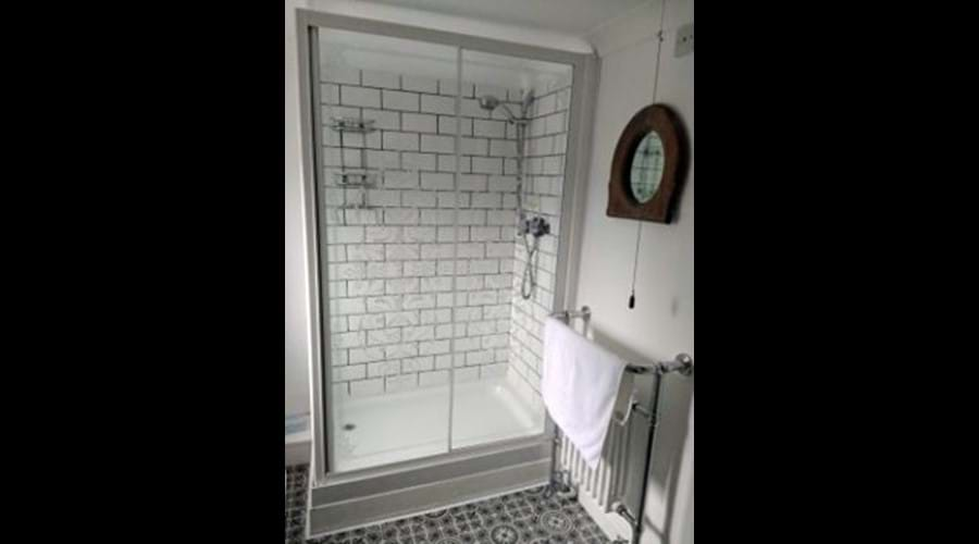 Large double enclosed shower