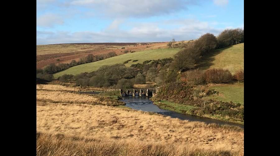 View to Landacre Bridge