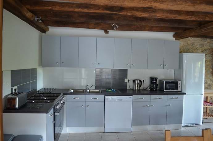 The Railway Cottage - 10 person gîte - kitchen facilities