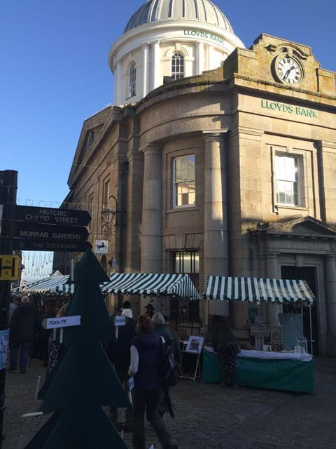 Penzance Street markets