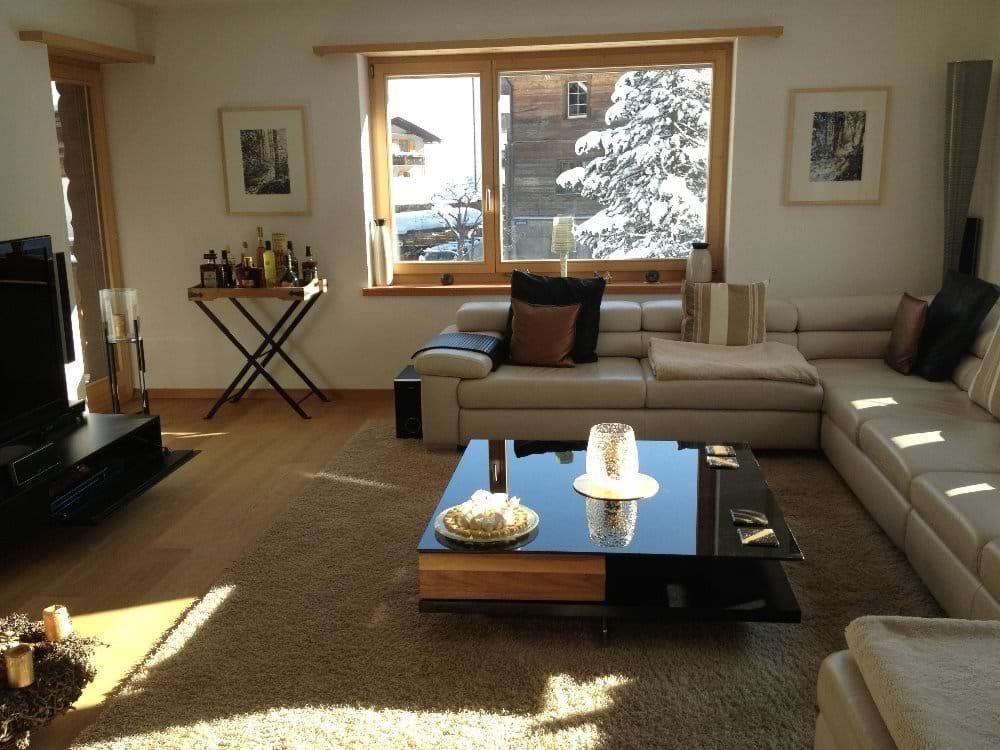 Stylishly furnished Living Area