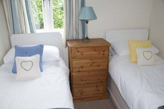 Bedroom 3 - Small Twin Beds