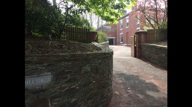 Entrance to Bishop