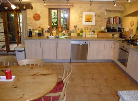 a typical Sarlat region farmhouse of Dordogne stone