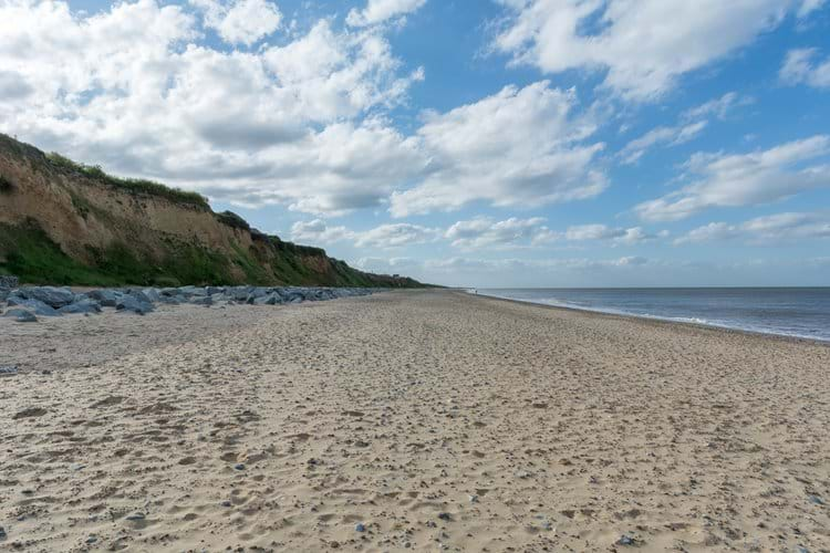 Fabulous beach just 5 minutes walk from the chalet