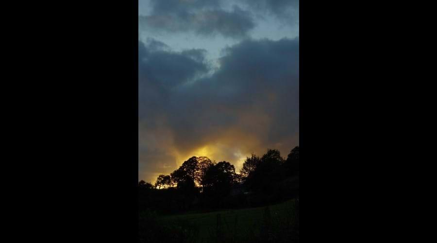 Sunset at Murmur Aeron