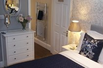 Beautiful decorated large bedroom at Ironbridge View Townhouse