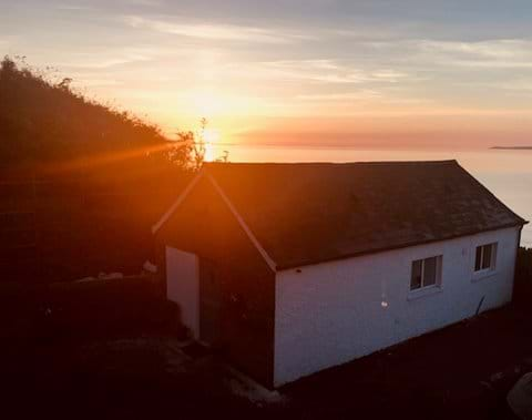 The sun rises to the left of the Boat House offering visitors a stunning view of sunrises.