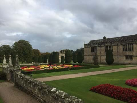 Lanhydrock House and its colourful gardens