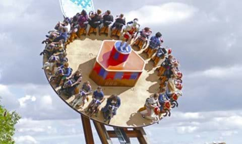 Hold tight at Festyland; there are rides suited to all ages and daring!