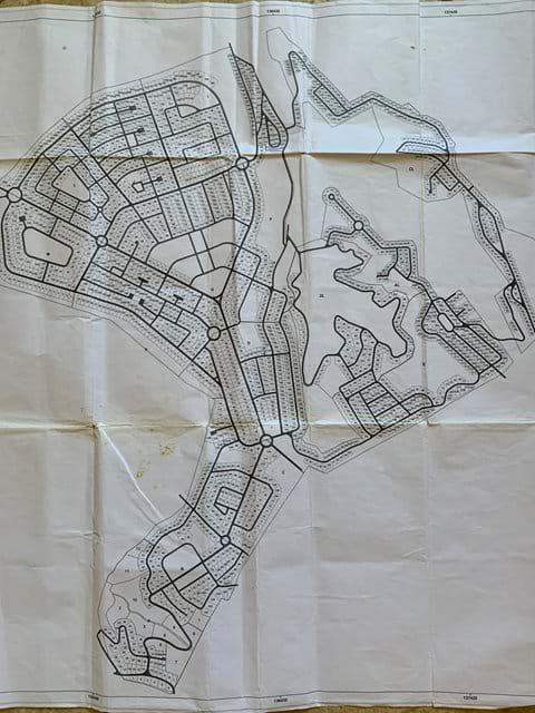 Vale Da Telha Sector and Lote Mapa
