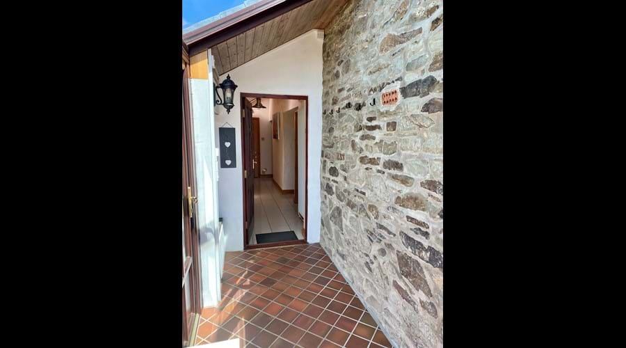 Trysor Holiday Cottage Entrance Porch