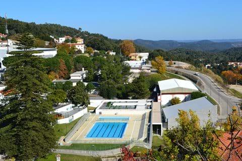 Public Pool in Monchique Algarve Portugal