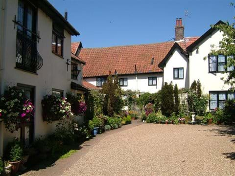 cottages in the summer