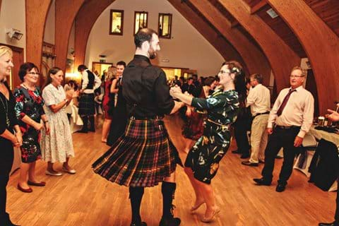 Ceilidh at our our beautiful village hall